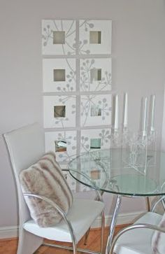 ; )I love this idea for cheap decorating with a great result