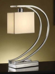 Art deco lamp : looks so modern. Lampe Art Deco, Deco Luminaire, Art Deco Stil, Art Deco Home, Art Deco Furniture, Cafe Furniture, Furniture Ideas, Street Furniture, Modular Furniture