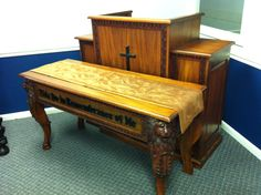 Churchmart Church Furniture Church Chairs Lion Of Judah Pulpit Set Call For Discounted