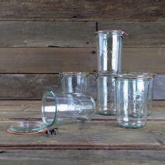 Weck Mold Jars 28.7 oz - Set of 6 Glass Jars - 743