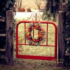 Red Garden Gate!!