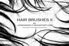 30 Free Hair Photoshop Brushes