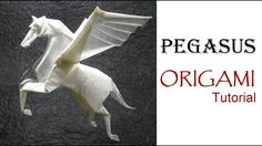 How to make an origami Dragon Designed by Jo Nakashima Support my . Origami Lion, Origami Horse, Instruções Origami, Origami Videos, Origami Envelope, Origami Dragon, Modular Origami, Paper Crafts Origami, Useful Origami