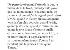 Xd c ma vie French Quotes, Monologues, Words To Describe, Sad Love, Pretty Words, My Mood, Some Words, Sentences, Quotations