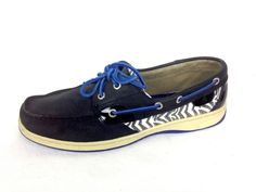 Sperry Top Sider Boat Shoes Angelfish Black Leather Loafers Womens 9.5 #SperryTopSider #BoatShoes #WeartoWork