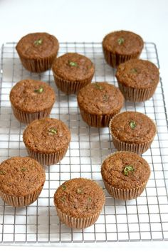 (Vegan) Spelt Flour Zucchini - Maple Muffins from Baker by Nature