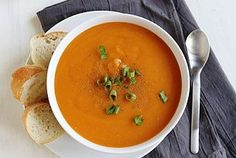Creamy Double Potato Soup--vegan