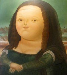 La Mona Lisa de Botero