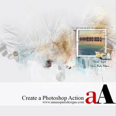 Creative Team Member, Suzie Griffith, explains how to create a Photoshop Action. Photoshop actions are extremely useful and invaluable time savers when you perform the same set of steps repeatedly in creating your different DigitalART layouts. Rather than clicking on the same buttons each time, you can record the process