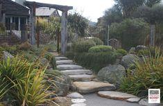 Schist Stone Alpine Stepper, Schist decoration, Schist Walling, Schist cladding, Premier Schist Stone Stone Supplier, Auckland, New Zealand, Sustainability, Sidewalk, Design, Side Walkway, Walkway