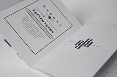 Black & White Typography