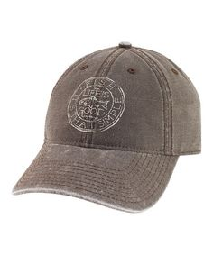 2b16efdc6e11 Life is Good® Dark Brown Medallion Fish Chill Baseball Cap - Men