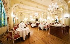 Dining Room at the Metropole Hotel - Brussels - Belgium