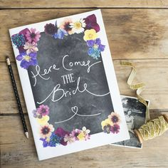 Here Comes The Bride Hen Party Scrapbook