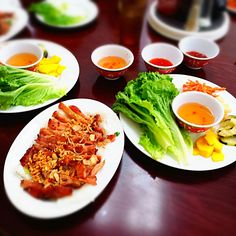 Vietnamese food from Pho Viet