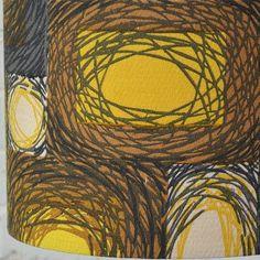 Vintage fabric Textile Patterns, Textile Prints, Color Patterns, Print Patterns, Vintage Textiles, Vintage Patterns, Winter Moon, Moon Print, Vintage Winter