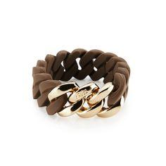 bracelet - chocolate & rose gold - 20 mm - 49€