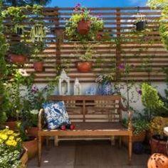 Terraço: Jardins translation missing: br.style.jardins.eclético por Blacher Arquitetura