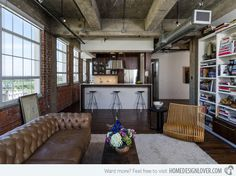 15 Industrial Living Room Designs That Will Leave You in Awe