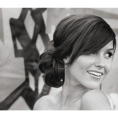 side bun..maybe my wedding hair?!