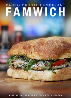 Eggplant Sandwich wi