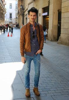Urban Casual Street Style - Barcelona