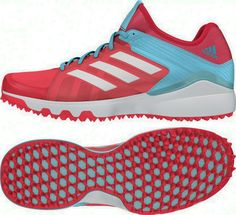 low priced 24312 4302c Adidas Hockey Lux W Shock Red Hockey Shoes 2016