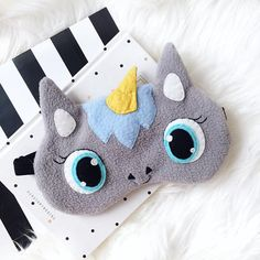 Unicorn sleep mask Eye mask sleep Funny sleep mask Sleep
