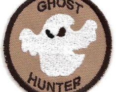 Ghost Hunter Geek mérito placa Patch