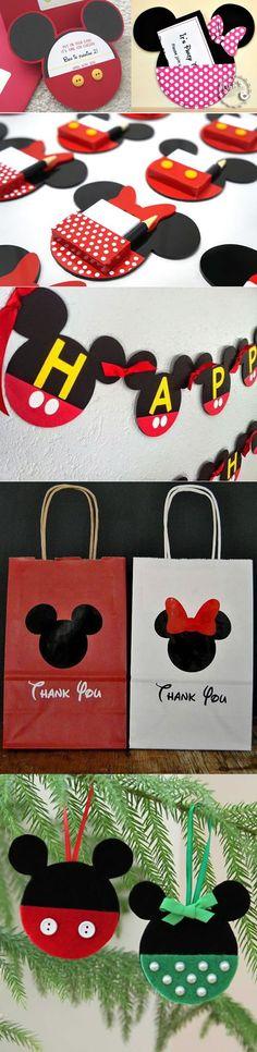 Maria Elisa, Peppa, Mouse Parties, Felt Ornaments, Goodie Bags, Chloe, Mickey Mouse, Snoopy, Kids Rugs
