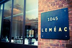 Looking for a French restaurant to enjoy a full meal at in Montréal? Come to Leméac! You can see our menu and photos of our location at our website. Best Places To Eat, Great Places, Restaurant Montreal, Image Slideshow, Frozen Pipes, French Restaurants, Rue, Night Life, Louise Penny
