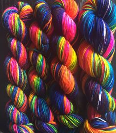 Knitted Wit: Love is Love. We're knitting with a rainbow and standing with Orlando, and our LGBTQ community around the world. As a Color for a Cause, we'll be donating 10% of all sales from this color to two local non profits: The Q Center and Outside In.