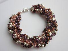 MultiColor Bracelet. Easy to make . Tutorial . Многоцветный Браслет . Ка...