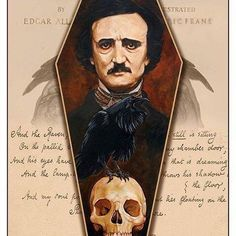 The Phantom Hollow Edgar Allan Poe, Edgar Allen Poe Tattoo, Premature Burial, Quoth The Raven, American Literature, Classic Literature, Skull Art, Dark Art, Paranormal
