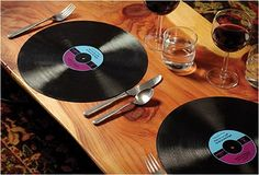Fancy - Record Placemats