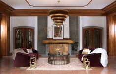 Living Room Ideas | New York Apartments | Decorating Ideas | Design Trends   #brabbu #livingroom #decoratingideas #designtrends