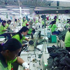 Proses Produksi Pakaian Jadi PT. Mataram Tunggal Garmen