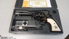 For Sale:  NIB RUGER CUSTOM SHOP VAQUERO LIMITED 1/250 45lc