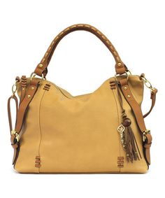 Another great find on #zulily! Camel & Safari Sofia Tote #zulilyfinds