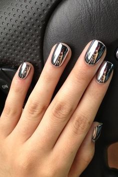 People Are Obsessed With This Pinterest Nail Trend | The Zoe Report