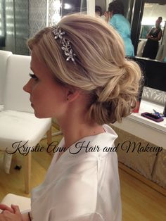 Hair Www Krystieann Wedding Bridal Updo
