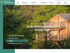 Venez découvrir des hébergements insolites en Bretagne pour un weekend, une nuit ou un séjour.  Laissez-vous séduire par une cabane dans les arbres, bulles en l'air, lodge, roulotte, yourte, pod...