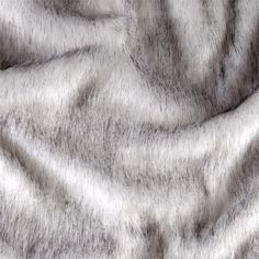 Faux Fur Husky Black/White from @fabricdotcom  Spoil yourself with this exquisite long hair faux fabric. From Shannon Fabrics, this fur has a 2'' pile, a luxurious hand and a soft subtle sheen just like the real thing! Make gorgeous jackets, coats, wraps, fashion accessories, pillows, throws and more!