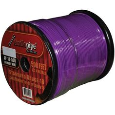 Black Electriduct Color 2 PET Expandable Braided Sleeving 50 Feet