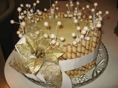 Winter Whites White Chocolate Ganache, French Vanilla cake with White Cream filling. Pirouette Cookie border on sides. Cake Ingredients, Homemade Tacos, Homemade Taco Seasoning, Fish Recipes, Whole Food Recipes, Pirouette Cookies, French Vanilla Cake, Pastries