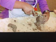 CHILDREN, CLAY, AND SCULPTURE!