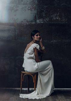 Wedding Dress 2016 // Laure de Sagazan Collection 2016 // French Design // #weddingdress #bride