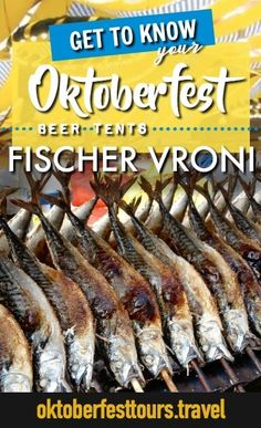 Fischer Vroni: the beer tent with the grilled fish – Kerry Ihnen Fischer Vroni: the beer tent with the grilled fish Get to know your Oktoberfest beer tents: Fischer Vroni Beer Health Benefits, Oktoberfest Food, Festivals Around The World, Beer Cheese, German Beer, Grilled Fish, Beer Festival, Getting To Know You, Foodie Travel