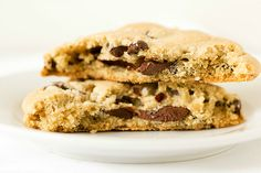 Awesome chocolate cookies with a touch of sea salt on top for lunch boxes this week!