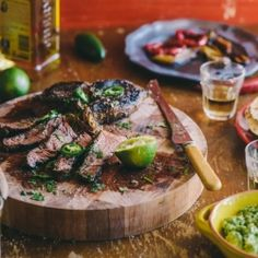 Tequila and Lime Marinated Steak from Peter Georgakopoulos for The ...